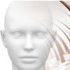 医生用新型奶油帮助患有斑秃的青少年女孩种植头发