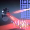 激光回路在一定距离上耦合量子系统