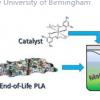 化学品回收利用废旧生物塑料制成有用的产品