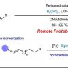 可持续的铁催化可实现可控的烯烃硼化