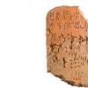 克里特岛上的米诺斯文明开发了一个由音节符号组成的书写系统