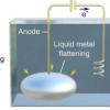 在液态金属中生长金属晶体