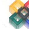 研究人员3-D打印微小的多色微结构