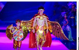 宁波市第二十届少儿服饰文化节模特大赛完成了决赛阶段的现场视频录制