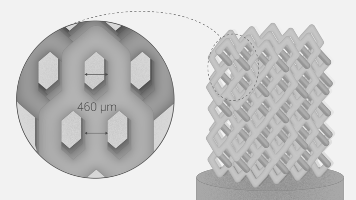 科学家开发了一种新颖的骨植入物制造方法