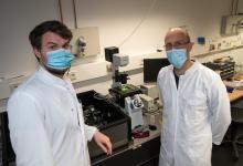 研究人员用荧光纳米传感器检测细菌