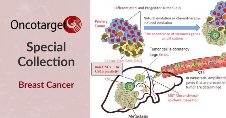 Oncotarget推出乳腺癌治疗的特别系列