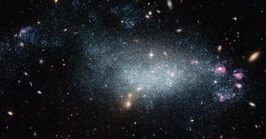 新研究发现蜻蜓44不是一个主要由暗物质组成的神秘星系