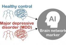 机器学习可以识别重大抑郁症的新大脑网络特征