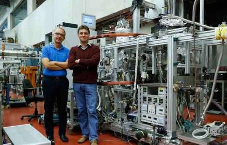 氦二聚体中的量子波首次拍摄